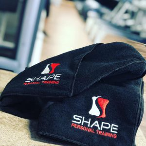 Shape Sweat Towel
